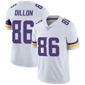 Youth Nike Minnesota Vikings Brandon Dillon White Vapor Untouchable Jersey - Limited