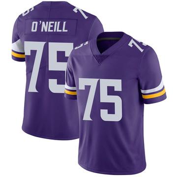 Youth Nike Minnesota Vikings Brian O'Neill Purple 100th Vapor Jersey - Limited