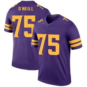 Youth Nike Minnesota Vikings Brian O'Neill Purple Color Rush Jersey - Legend