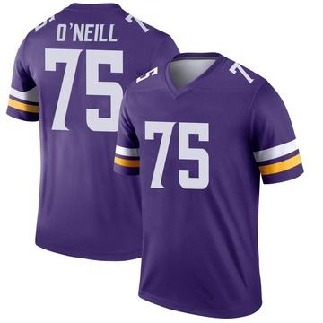 Youth Nike Minnesota Vikings Brian O'Neill Purple Jersey - Legend