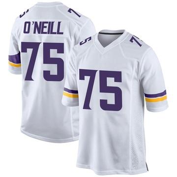 Youth Nike Minnesota Vikings Brian O'Neill White Jersey - Game