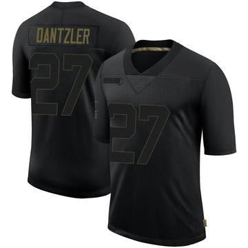 Youth Nike Minnesota Vikings Cameron Dantzler Black 2020 Salute To Service Jersey - Limited