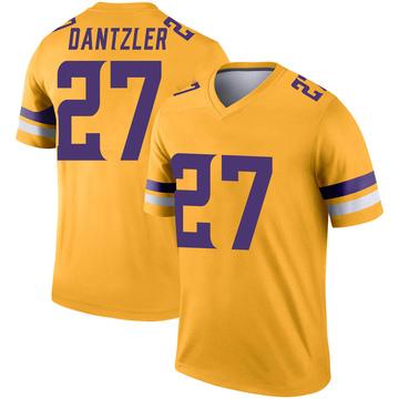 Youth Nike Minnesota Vikings Cameron Dantzler Gold Inverted Jersey - Legend