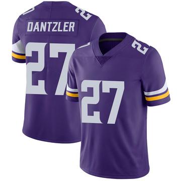 Youth Nike Minnesota Vikings Cameron Dantzler Purple 100th Vapor Jersey - Limited