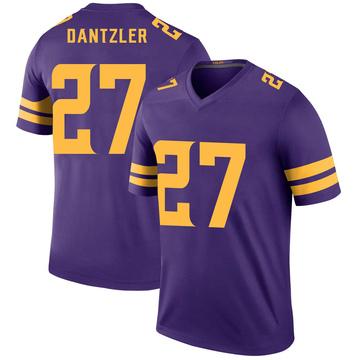 Youth Nike Minnesota Vikings Cameron Dantzler Purple Color Rush Jersey - Legend