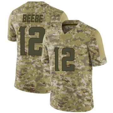 Youth Nike Minnesota Vikings Chad Beebe Camo 2018 Salute to Service Jersey - Limited
