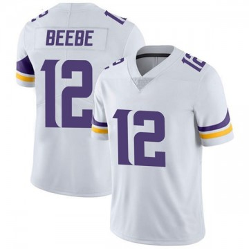 Youth Nike Minnesota Vikings Chad Beebe White Vapor Untouchable Jersey - Limited