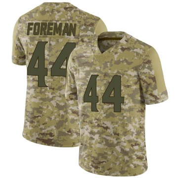 Youth Nike Minnesota Vikings Chuck Foreman Camo 2018 Salute to Service Jersey - Limited