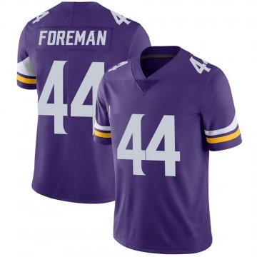 Youth Nike Minnesota Vikings Chuck Foreman Purple 100th Vapor Jersey - Limited