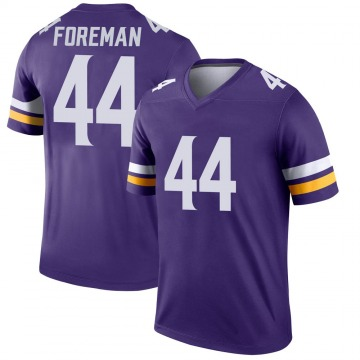 Youth Nike Minnesota Vikings Chuck Foreman Purple Jersey - Legend