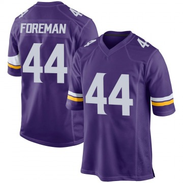 Youth Nike Minnesota Vikings Chuck Foreman Purple Team Color Jersey - Game