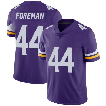 Youth Nike Minnesota Vikings Chuck Foreman Purple Team Color Vapor Untouchable Jersey - Limited