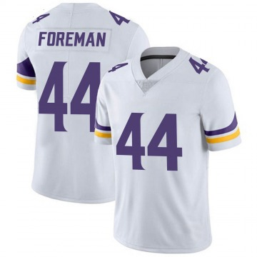 Youth Nike Minnesota Vikings Chuck Foreman White Vapor Untouchable Jersey - Limited