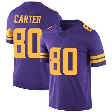 Youth Nike Minnesota Vikings Cris Carter Purple Color Rush Jersey - Limited