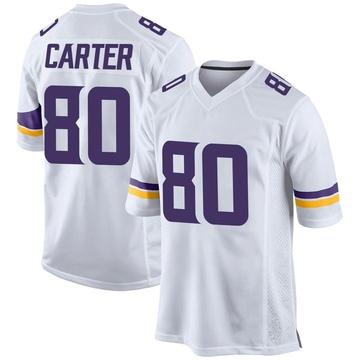 Youth Nike Minnesota Vikings Cris Carter White Jersey - Game