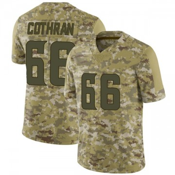 Youth Nike Minnesota Vikings Curtis Cothran Camo 2018 Salute to Service Jersey - Limited