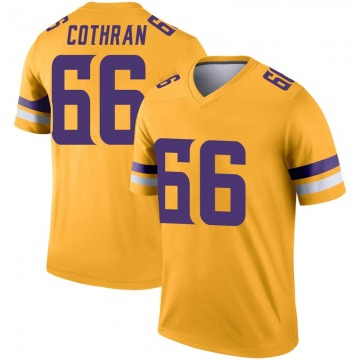 Youth Nike Minnesota Vikings Curtis Cothran Gold Inverted Jersey - Legend