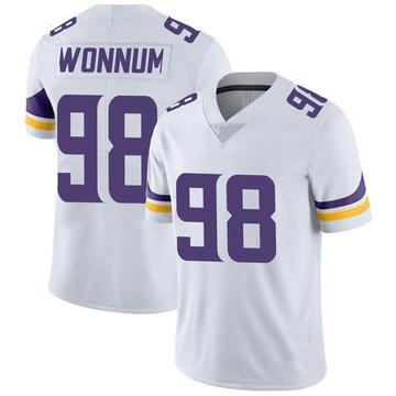 Youth Nike Minnesota Vikings D.J. Wonnum White Vapor Untouchable Jersey - Limited