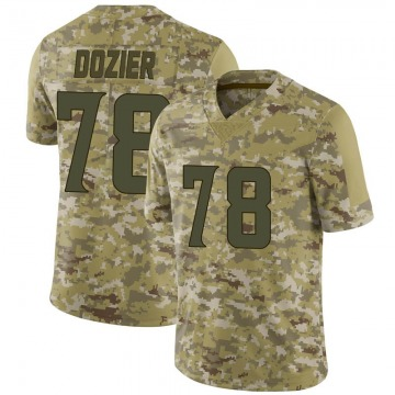 Youth Nike Minnesota Vikings Dakota Dozier Camo 2018 Salute to Service Jersey - Limited