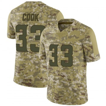 Youth Nike Minnesota Vikings Dalvin Cook Camo 2018 Salute to Service Jersey - Limited