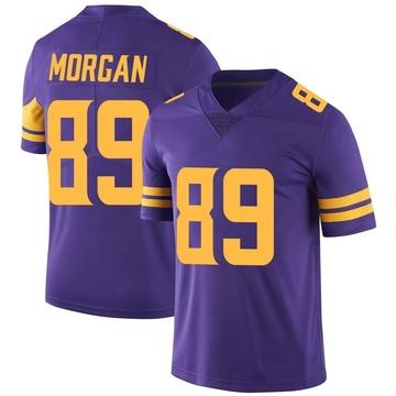 Youth Nike Minnesota Vikings David Morgan Purple Color Rush Jersey - Limited