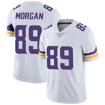 Youth Nike Minnesota Vikings David Morgan White Vapor Untouchable Jersey - Limited