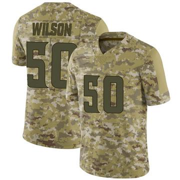 Youth Nike Minnesota Vikings Eric Wilson Camo 2018 Salute to Service Jersey - Limited