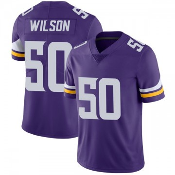 Youth Nike Minnesota Vikings Eric Wilson Purple Team Color Vapor Untouchable Jersey - Limited