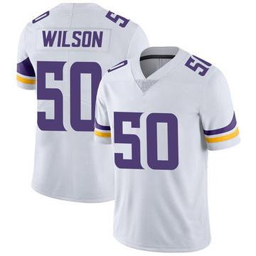 Youth Nike Minnesota Vikings Eric Wilson White Vapor Untouchable Jersey - Limited
