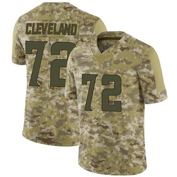 Youth Nike Minnesota Vikings Ezra Cleveland Camo 2018 Salute to Service Jersey - Limited