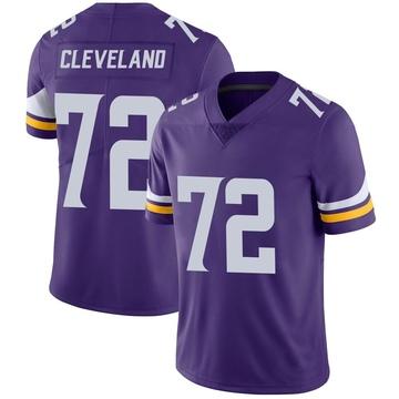 Youth Nike Minnesota Vikings Ezra Cleveland Purple Team Color Vapor Untouchable Jersey - Limited