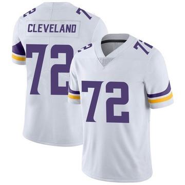 Youth Nike Minnesota Vikings Ezra Cleveland White Vapor Untouchable Jersey - Limited