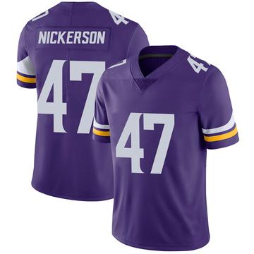Youth Nike Minnesota Vikings Hardy Nickerson Purple 100th Vapor Jersey - Limited