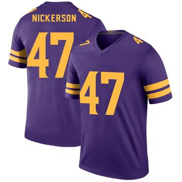 Youth Nike Minnesota Vikings Hardy Nickerson Purple Color Rush Jersey - Legend
