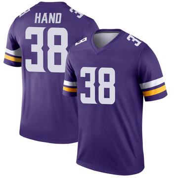 Youth Nike Minnesota Vikings Harrison Hand Purple Jersey - Legend