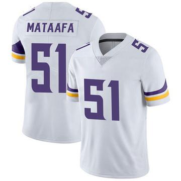 Youth Nike Minnesota Vikings Hercules Mata'afa White Vapor Untouchable Jersey - Limited