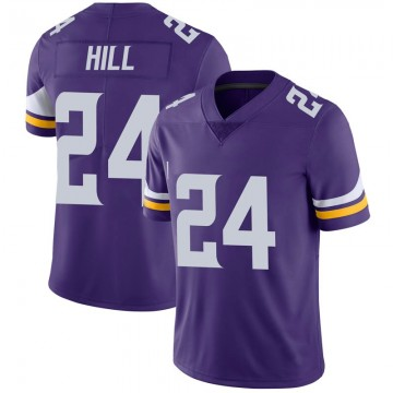 Youth Nike Minnesota Vikings Holton Hill Purple 100th Vapor Jersey - Limited
