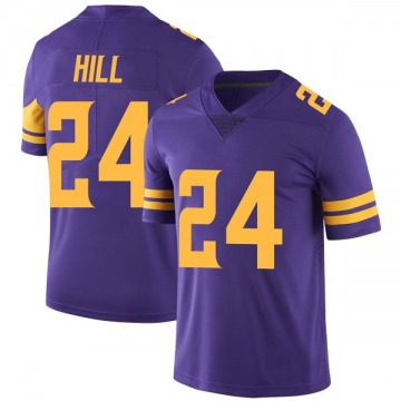 Youth Nike Minnesota Vikings Holton Hill Purple Color Rush Jersey - Limited