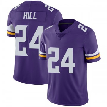 Youth Nike Minnesota Vikings Holton Hill Purple Team Color Vapor Untouchable Jersey - Limited