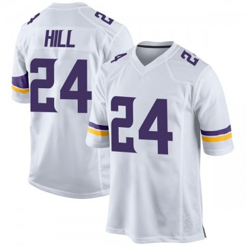 Youth Nike Minnesota Vikings Holton Hill White Jersey - Game