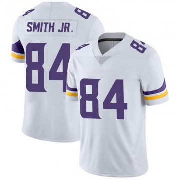 Youth Nike Minnesota Vikings Irv Smith Jr. White Vapor Untouchable Jersey - Limited
