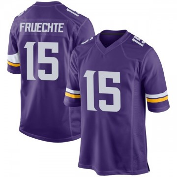 Youth Nike Minnesota Vikings Isaac Fruechte Purple Team Color Jersey - Game