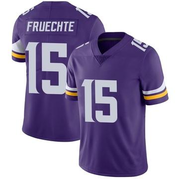 Youth Nike Minnesota Vikings Isaac Fruechte Purple Team Color Vapor Untouchable Jersey - Limited