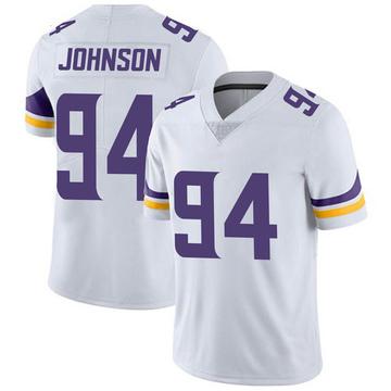 Youth Nike Minnesota Vikings Jaleel Johnson White Vapor Untouchable Jersey - Limited