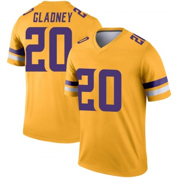 Youth Nike Minnesota Vikings Jeff Gladney Gold Inverted Jersey - Legend