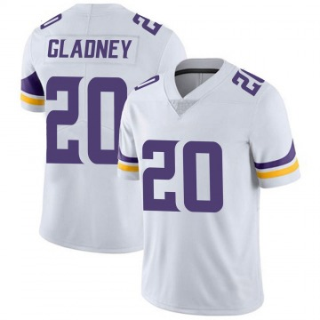 Youth Nike Minnesota Vikings Jeff Gladney White Vapor Untouchable Jersey - Limited