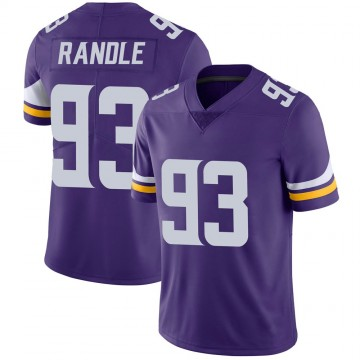 Youth Nike Minnesota Vikings John Randle Purple 100th Vapor Jersey - Limited