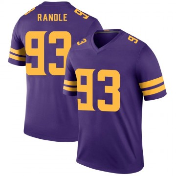 Youth Nike Minnesota Vikings John Randle Purple Color Rush Jersey - Legend