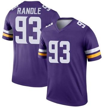 Youth Nike Minnesota Vikings John Randle Purple Jersey - Legend