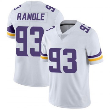 Youth Nike Minnesota Vikings John Randle White Vapor Untouchable Jersey - Limited